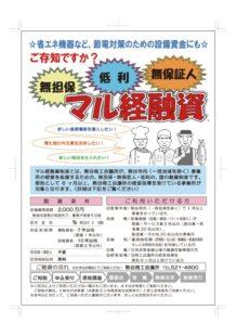 マル経PR_融資相談会チラシ2のサムネイル