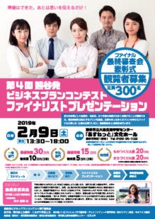 第4回熊谷発ビジネスプランコンテストのサムネイル